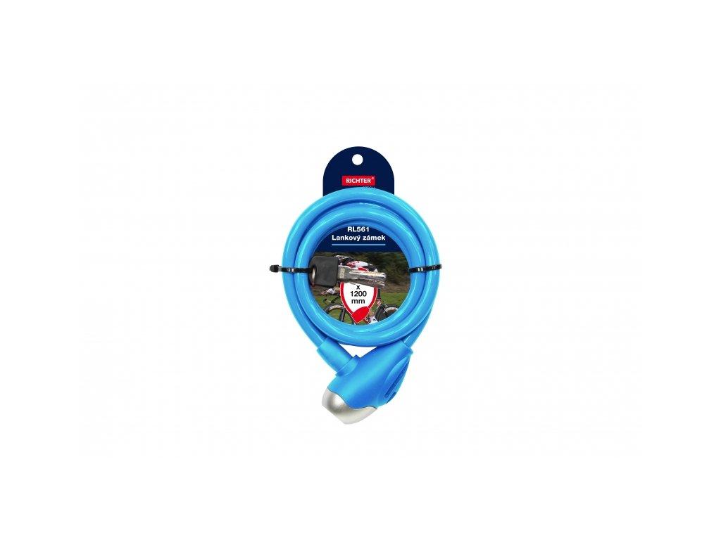 Lankový zámek RL561 - modrý