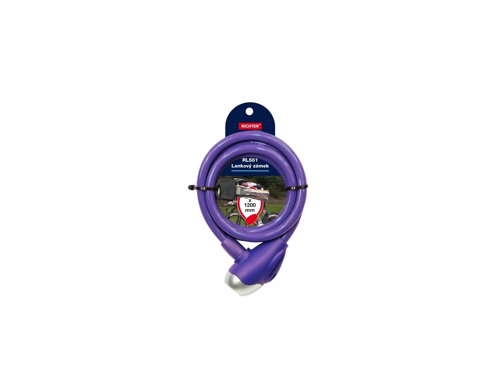 Lankový zámek RL561 - fialový