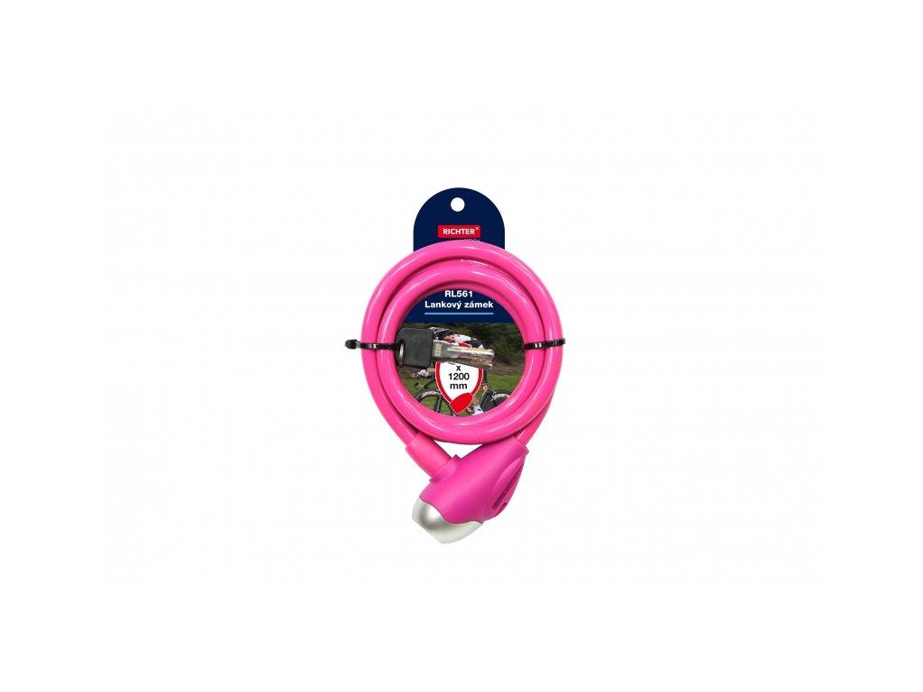Lankový zámek RL561 - růžový