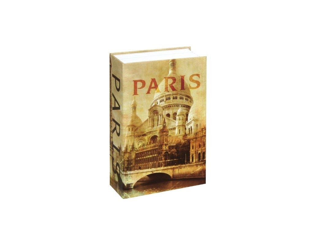 Bezpečnostní schránka kniha - PARIS