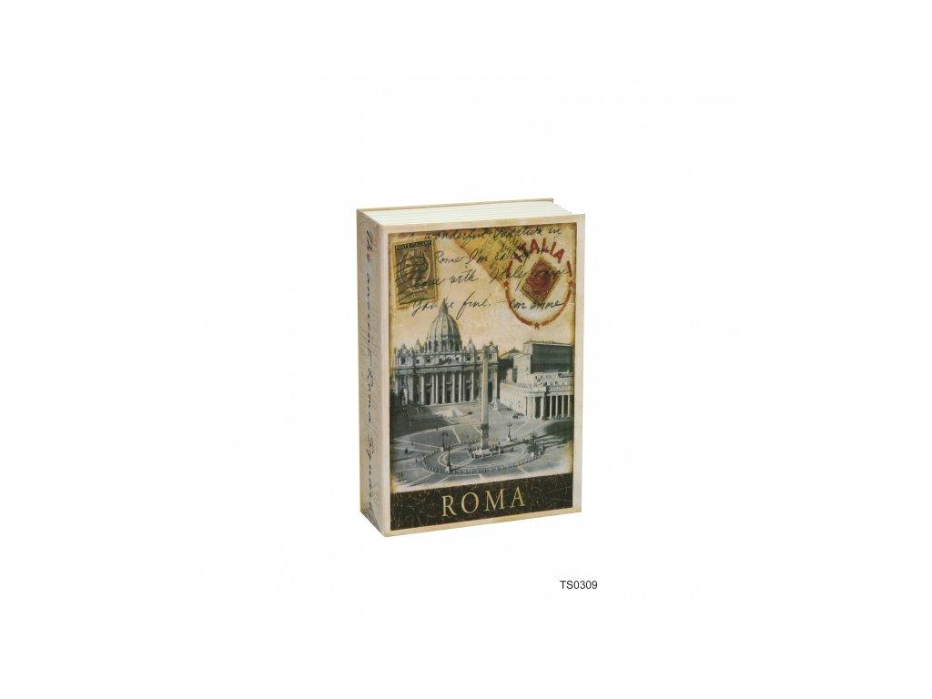 Bezpečnostní schránka kniha - ROMA