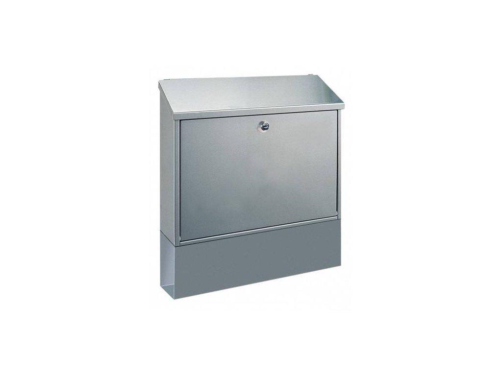Poštovní schránka VILLA set stříbrná pozinkovaná