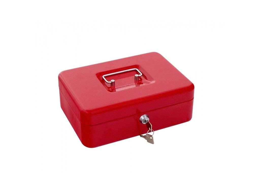 DOMYS e-shop: Pokladnička TRAUN3 červená