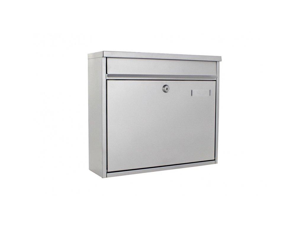 DOMYS e-shop: Poštovní schránka HOCHHAUS II stříbrná