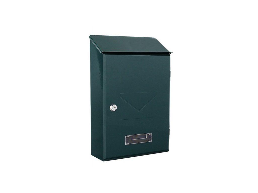 DOMYS e-shop: Poštovní schránka PISA zelená