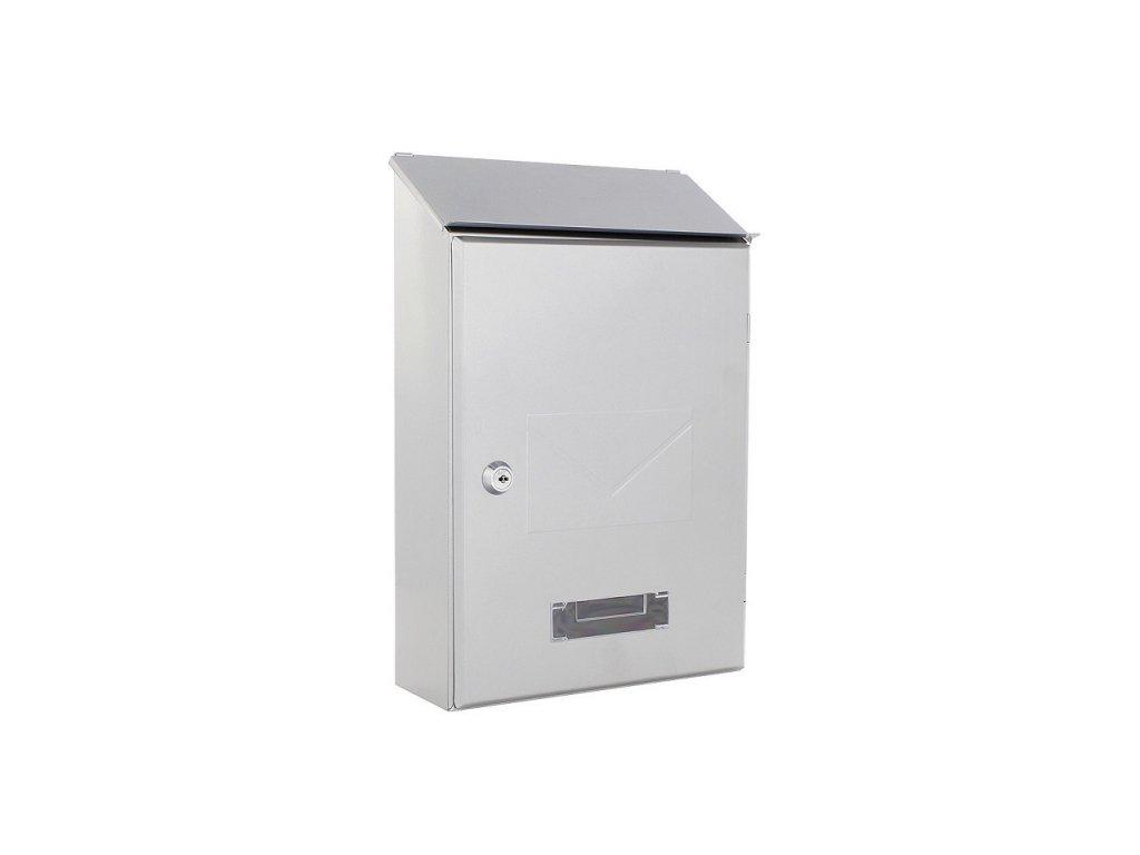 DOMYS e-shop: Poštovní schránka PISA stříbrná