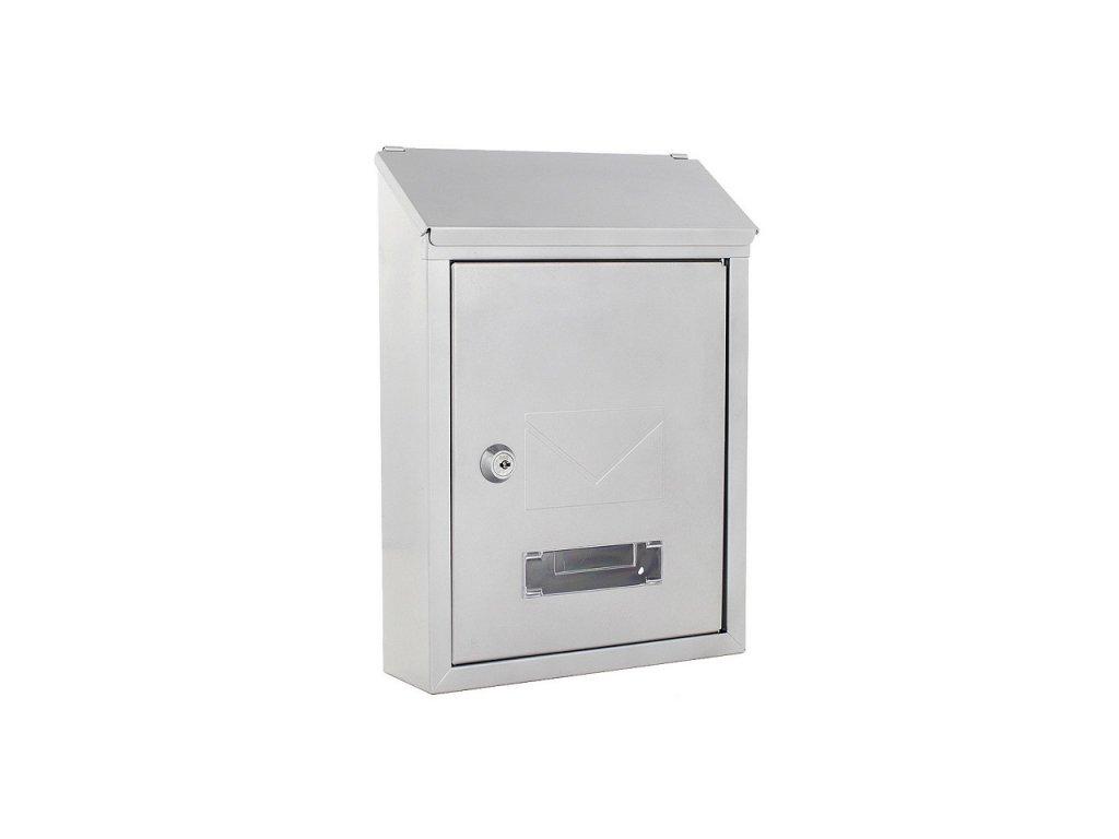 DOMYS e-shop: Poštovní schránka UDINE stříbrná