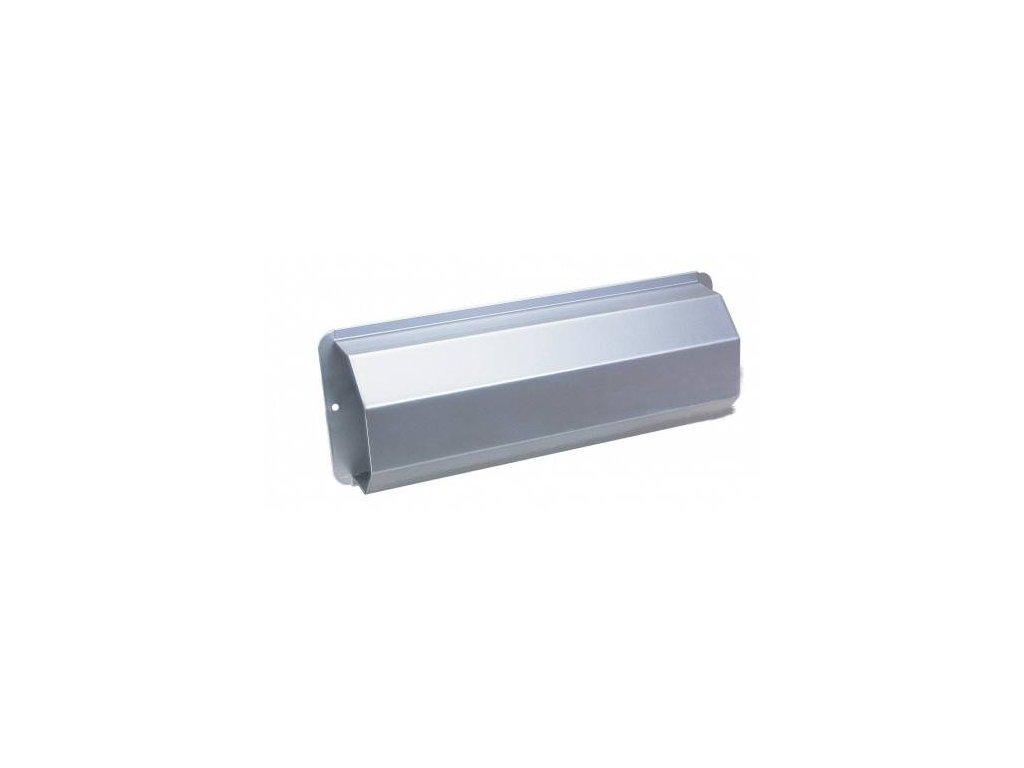 Box na noviny PESCARA stříbrná