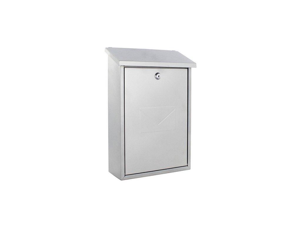 DOMYS e-shop: Poštovní schránka PARMA - stříbrná