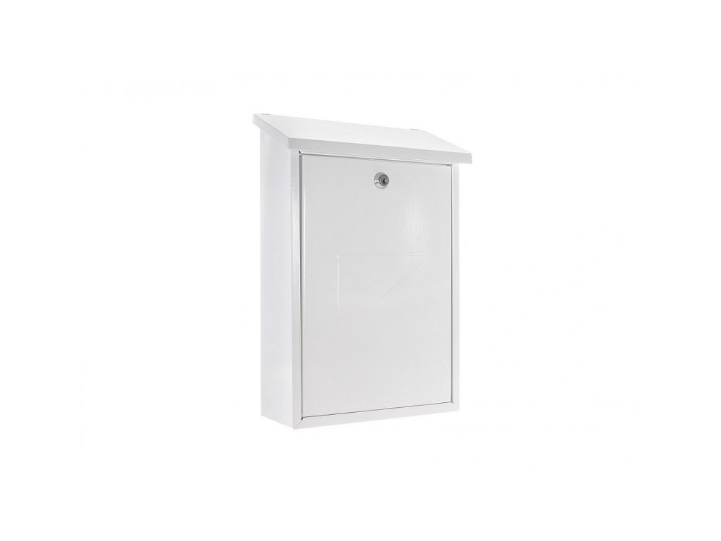 DOMYS e-shop: Poštovní schránka PARMA - bílá