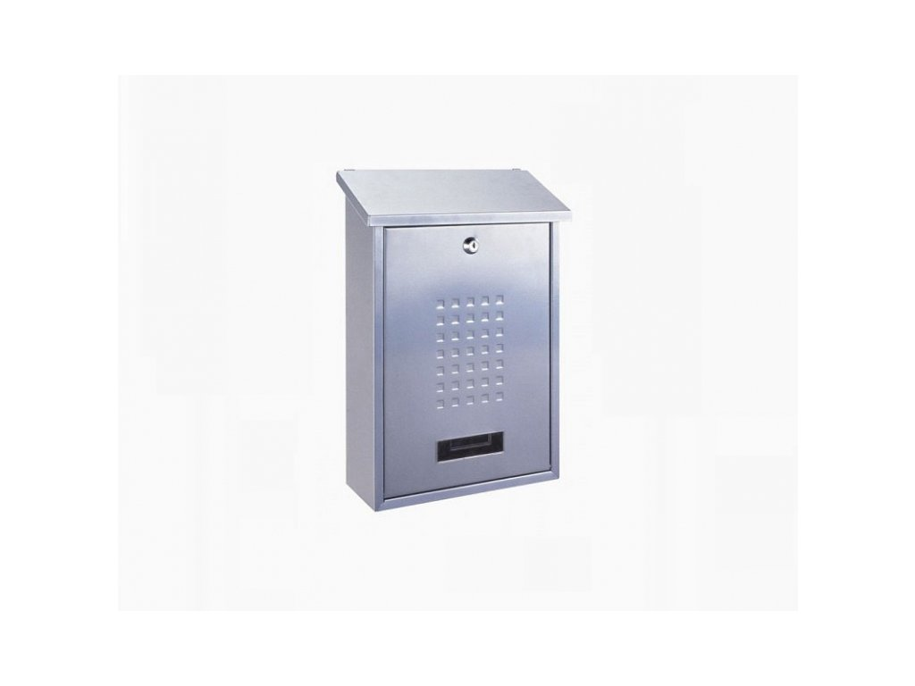 Poštovní schránka LIGNANO - stříbrná