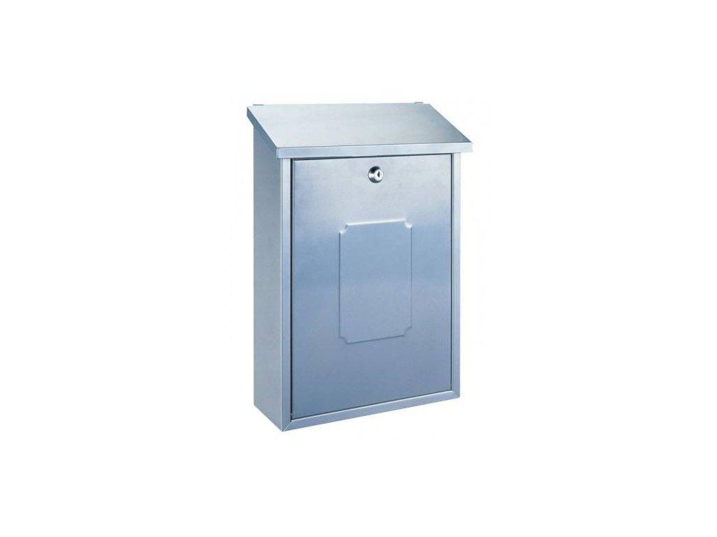 Poštovní schránka MERANO - stříbrná