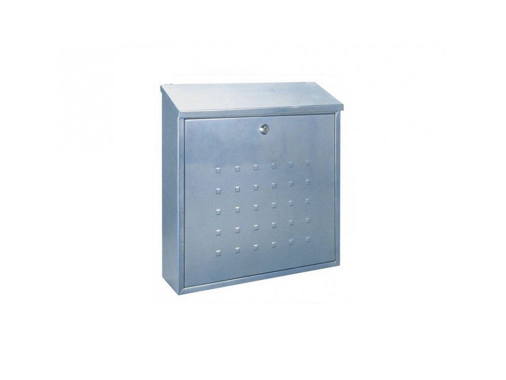 Poštovní schránka VICENZA stříbrná