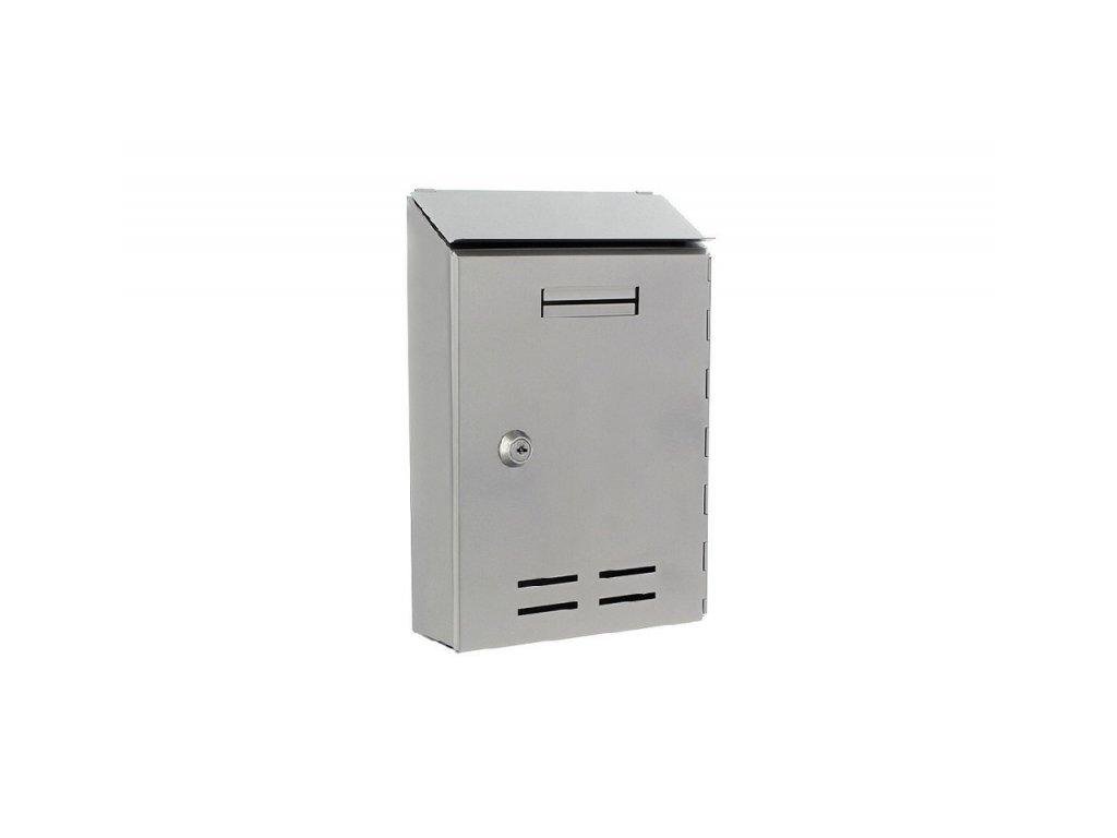 DOMYS e-shop: Poštovní schránka STANDARD I - stříbrná