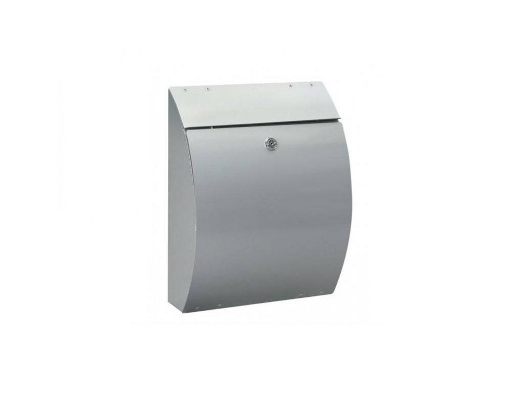 Poštovní schránka ELEGANZA stříbrná