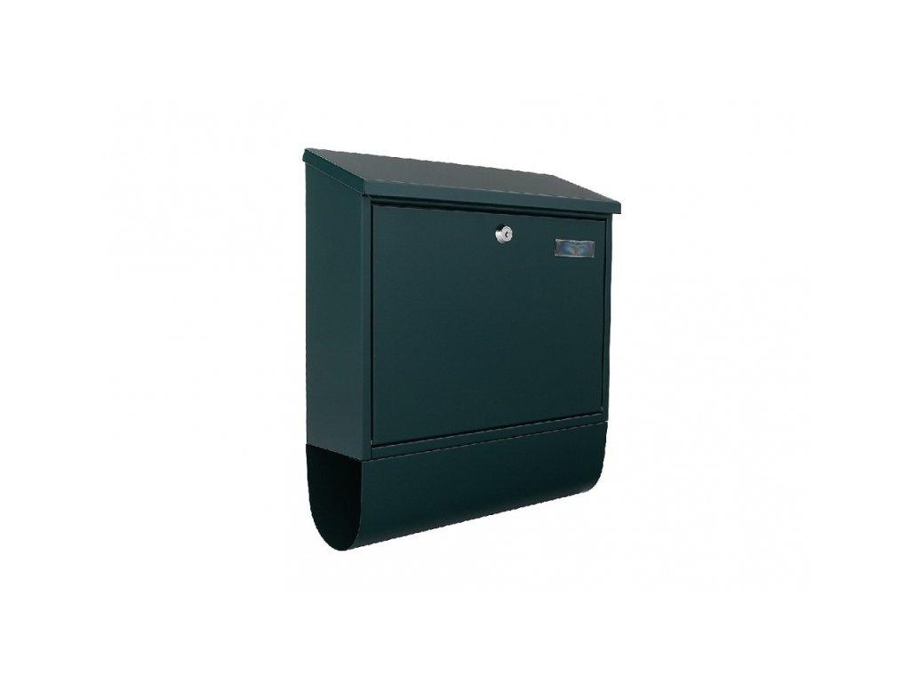 DOMYS e-shop: Poštovní schránka VILLA SPEZIAL-SET zelená
