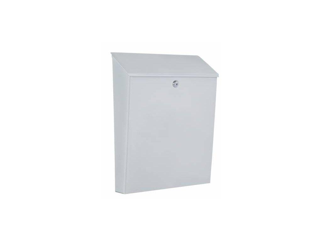 Poštovní schránka LUNA bílá pozinkovaná