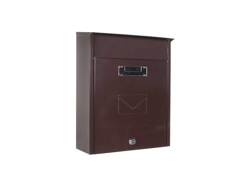 DOMYS e-shop: Poštovní schránka TIVOLI hnědá