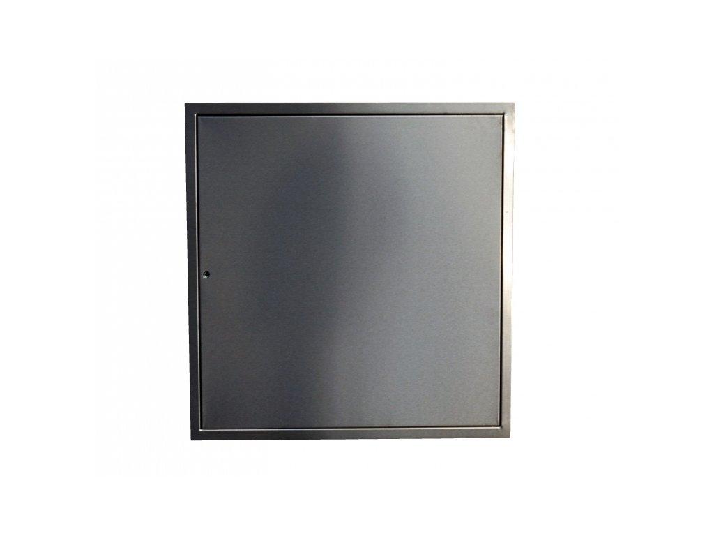 Nerezová revizní dvířka LIGHT na magnet - 80x60 cm