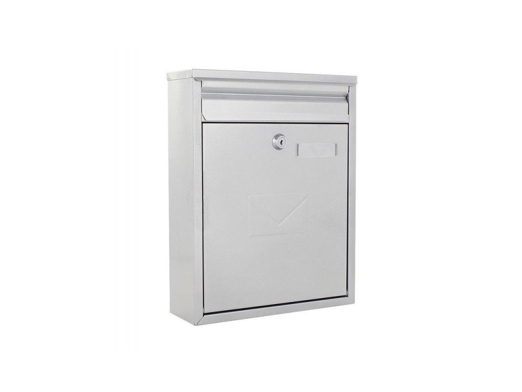 DOMYS e-shop: Poštovní schránka COMO stříbrná