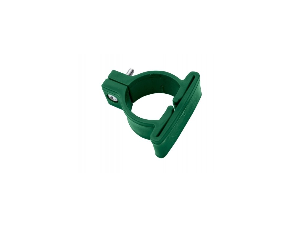Objímka PVC pro panely LIGHT, zelená - 48 mm