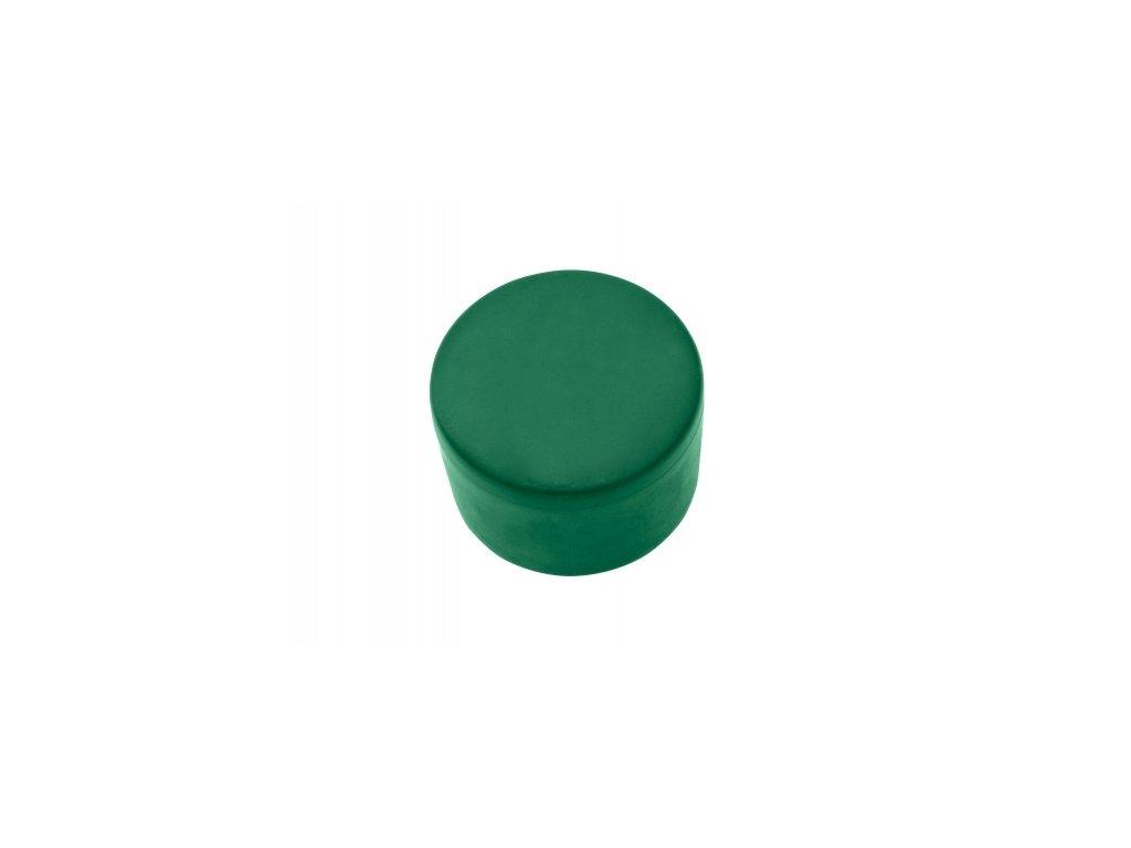 Čepička PVC 48 mm - zelená