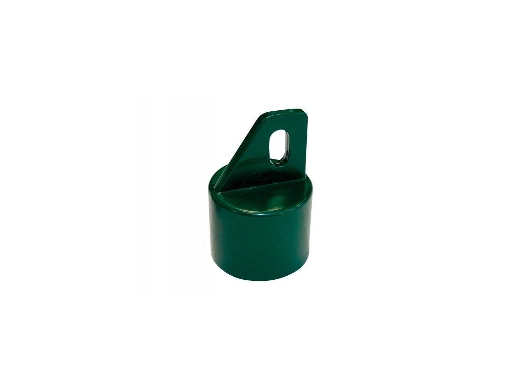 Koncovka na vzpěru 48 mm - hliník + PVC
