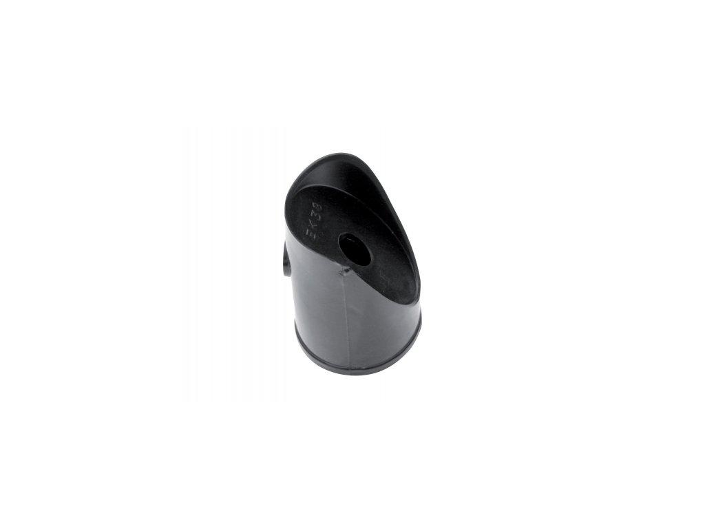 Koncovka na vzpěru (PVC), černá - 48 mm