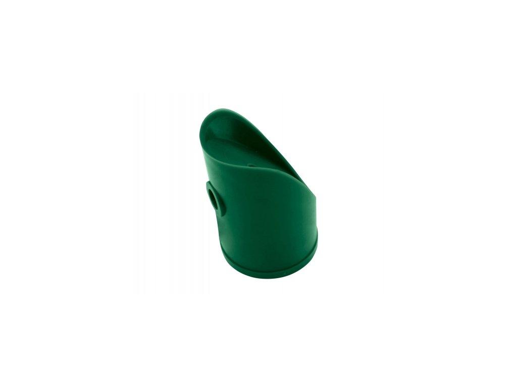 Koncovka na vzpěru (PVC), zelená - 48 mm