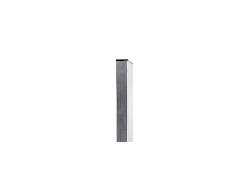 Sloupek POZINKOVANÝ (ZN) 60x40 mm - 200 cm
