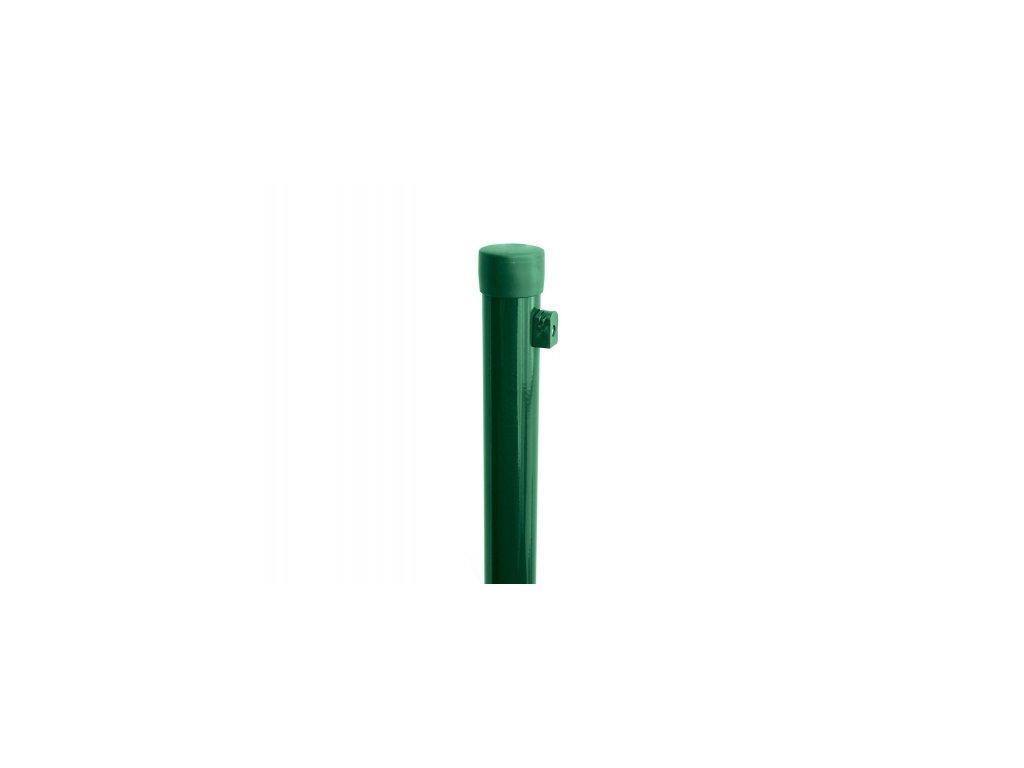Sloupek ZELENÝ (ZN+PVC), pr. 48 mm - 210 cm