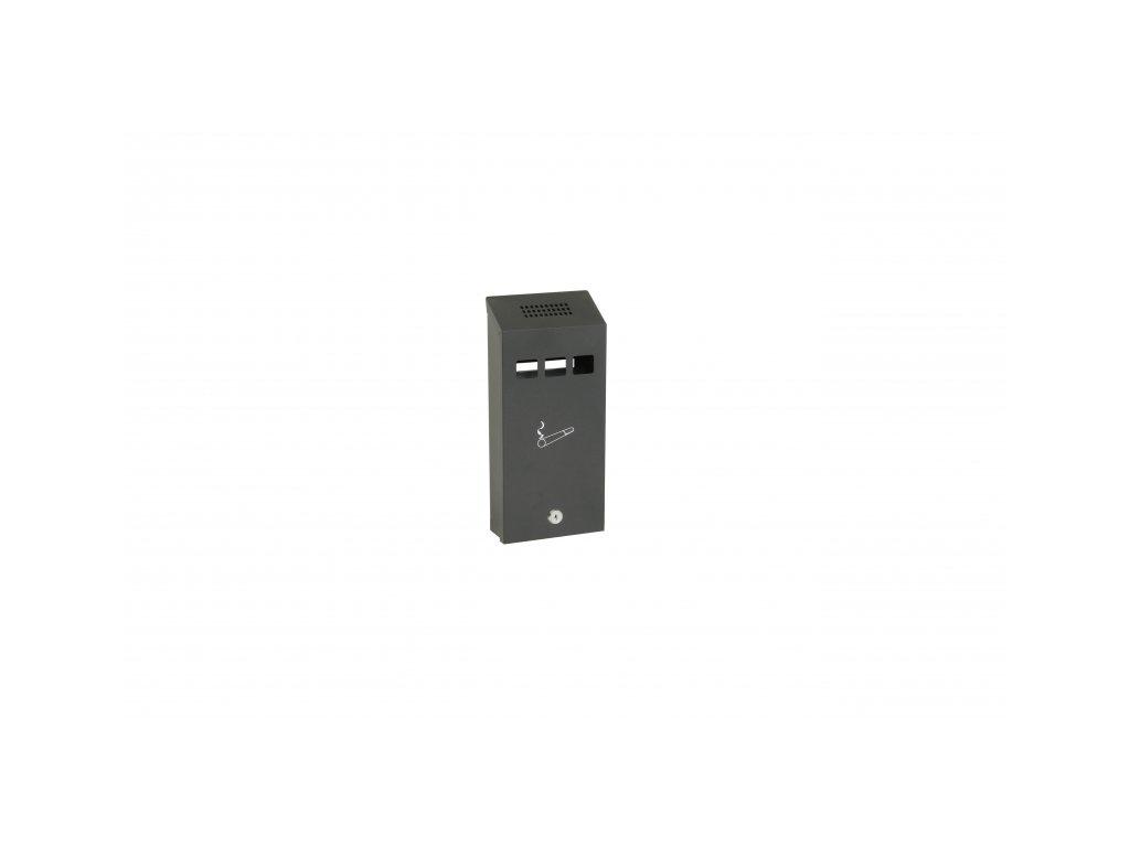 Ocelový závěsný popelník na zeď - RA.5010