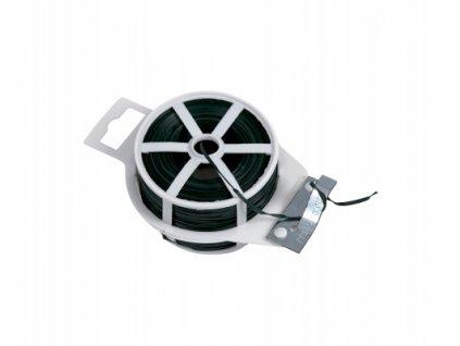 ;Vázací drát (ZN + PVC) s odstřihem, plochý - 100 m