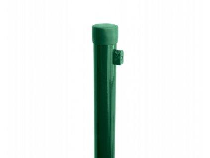 Sloupek ZELENÝ (ZN+PVC), pr. 38 mm - 230 cm