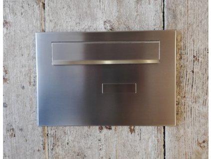 Poštovní schránka pro zazdění - přední čelo