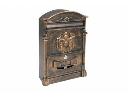 Poštovní schránka BK301.ZP - zlatá
