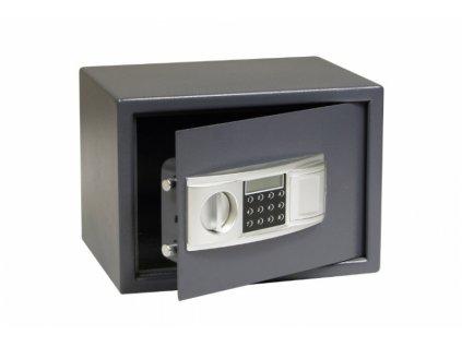Ocelový sejf s elektronickým zámkem RS25.LCD