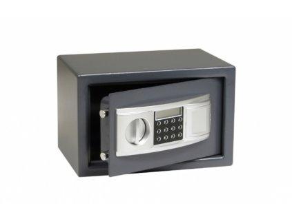 Ocelový sejf s elektronickým zámkem RS20.LCD