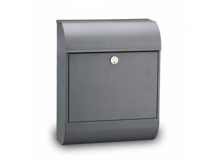 Poštovní schránka Pearl - šedá