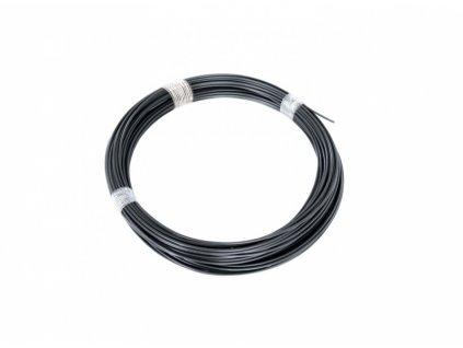 Drát napínací Zn + PVC 78m, 2,25/3,40, antracit