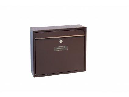 Poštovní schránka Richter BK31.H - hnědá