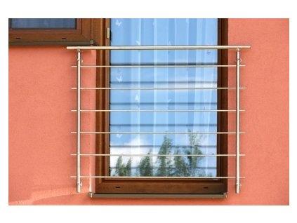 Set zábradlí pro franouzská okna - nerez
