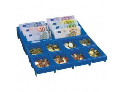 DOMYS e-shop: Europokladnička CASHNOTES modrá