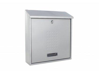 DOMYS e-shop: Poštovní schránka BOLZANO stříbrná