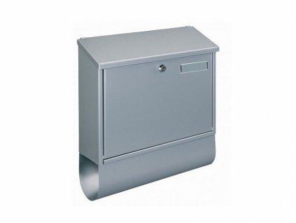 Poštovní schránka VILLA SPEZIAL-SET stříbrná