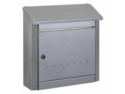 Poštovní schránka TREND stříbrná pozinkovaná