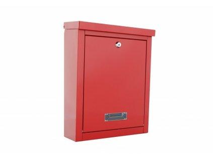 DOMYS e-shop: Poštovní schránka BRIGHTON červená