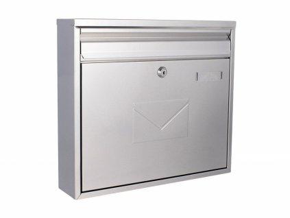 DOMYS e-shop: Poštovní schránka TERAMO stříbrná