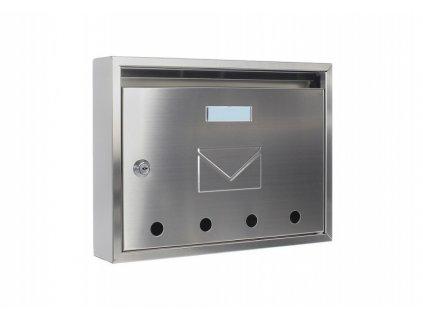 DOMYS e-shop: Poštovní schránka IMOLA nerez