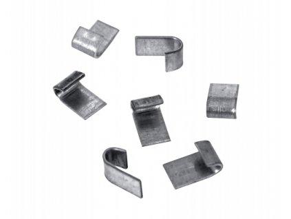 Svorky HOBBY pro spojování svařovaných pletiv - 150 ks